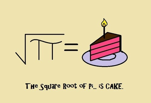 How Can We Write The Square Root Of Pi Mathpimath Quora