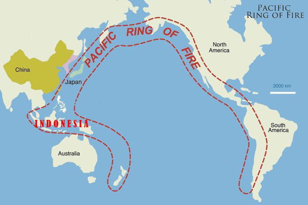 Which Continents Does The Ring Of Fire Expand In Quora