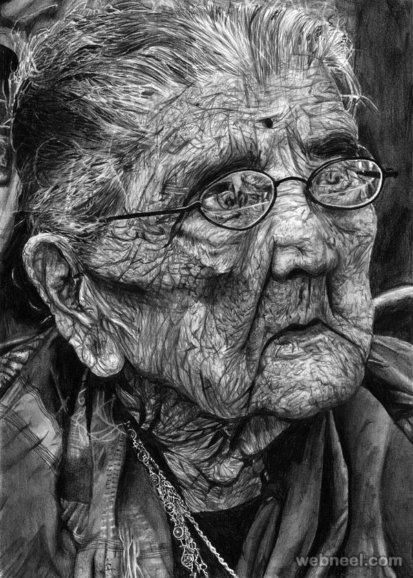 A little bit of everything is served on the same platter enjoy these creative and amazing pencil drawings by artists around the world and be amazed