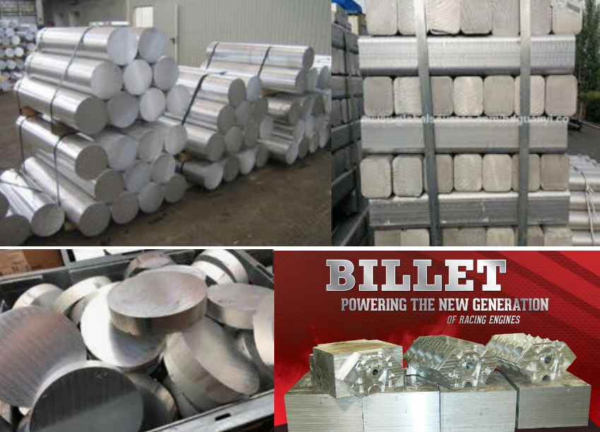 What is the difference between something constructed of billet