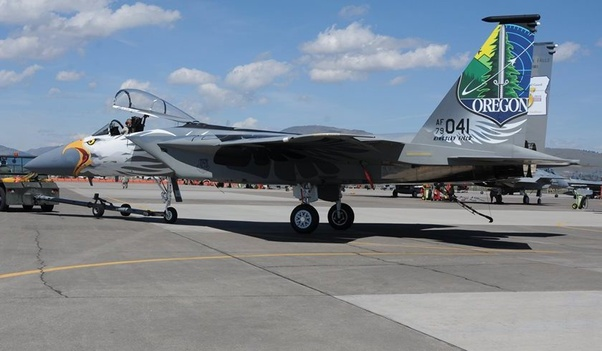 Why do some military aircraft have unique paint schemes