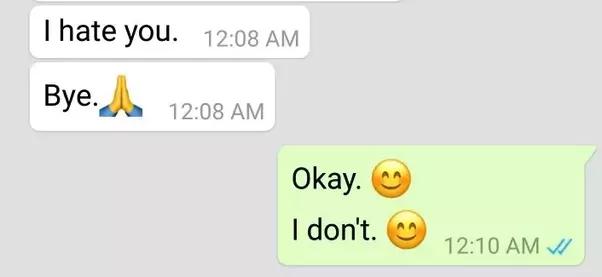someone hates me