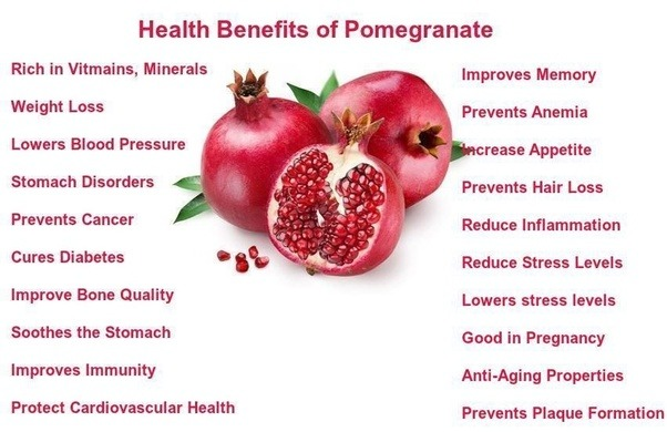 The Health Benefits of Pomegranates - Dr. Group's Healthy ...