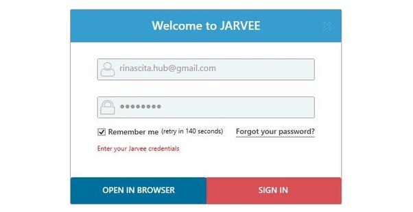 Install Jarvee