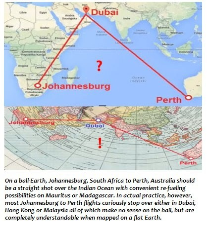 If the earth is flat and not roundish then what 2 cities that thing is flights from johannesburg to perth take 9 hours 20min johannesburg to dubai flights are 8hr 10 min makes sense on round world gumiabroncs Gallery
