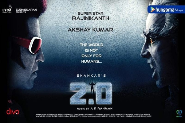 Is the movie 2 0 as good as Bahubali? - Quora