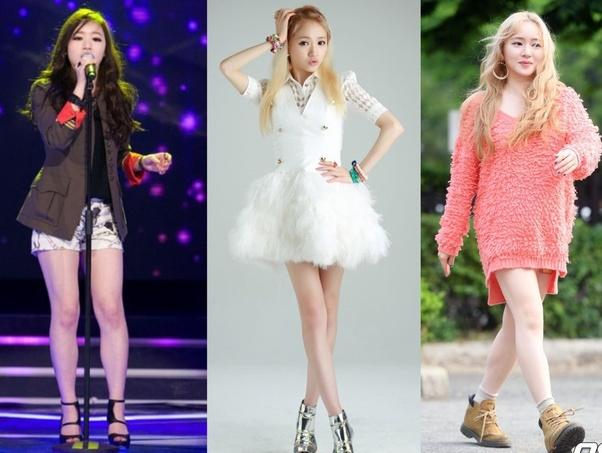 Kpop star weight loss