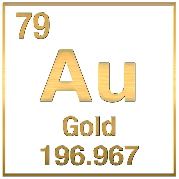 What is the periodic symbol for gold quora urtaz