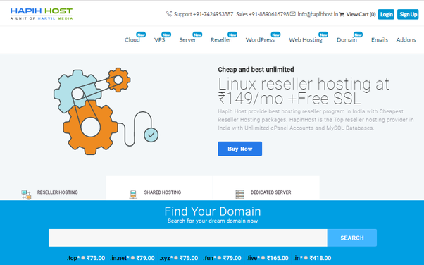 What is the best solution for hosting multiple websites? - Quora