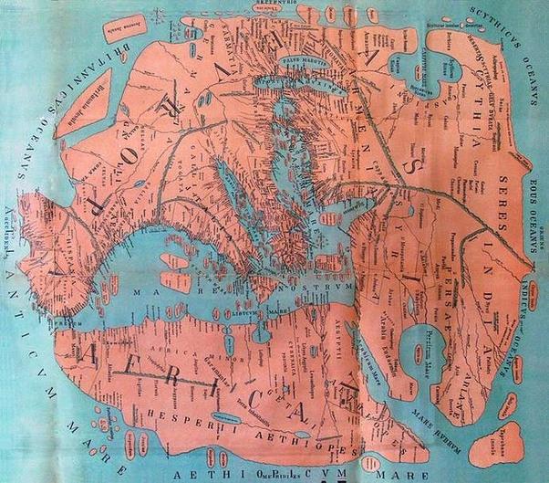 First Accurate Map Of The World.What Did The World Map Look Like At The Time Of The Roman Empire