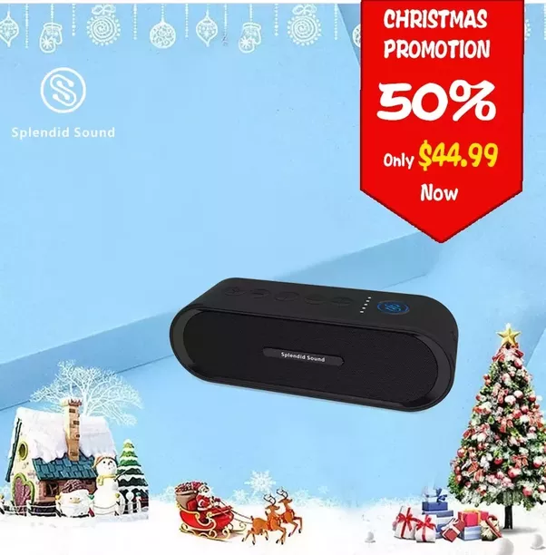 its most like to choose ipop bluetooth speaker for a rapper which can help them enjoy music everywhere moreover its on promotion now 50 off - What To Give For Christmas