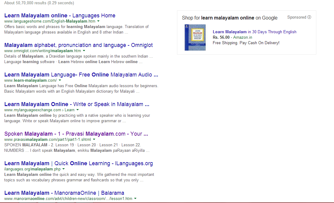 How to learn Malayalam in the most assertive and quickest