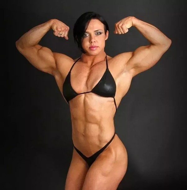 Like topic Bodybuilder sex tiny girl all