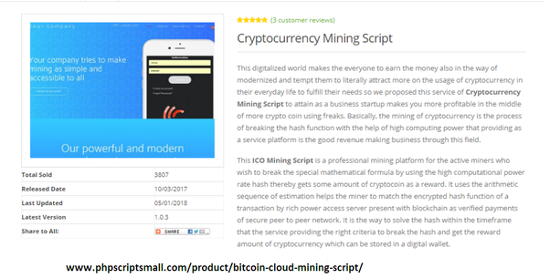 cryptocurrency mining computing power