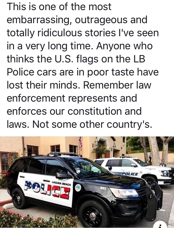 Why are some residents in Laguna Beach California upset that