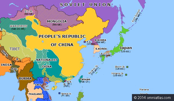 Why does china have border disputes with almost every neighbouring this is the map of china now tibet east turkistan southern parts of mongolia and many more border regions have all been assimilated into china freerunsca Image collections