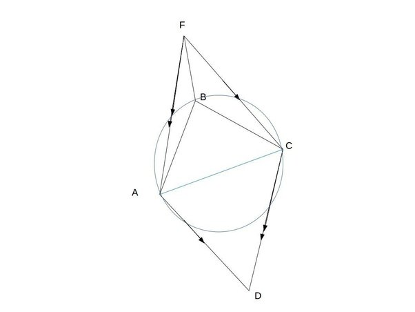 Abcd is a convex quadrilateral such that abbc cbd2 adb and abd2 abcd is a convex quadrilateral such that abbc cbd2 adb and abd2 cdb f is a point on the plane of the quadrilateral such that afcd is a parallelogram ccuart Images