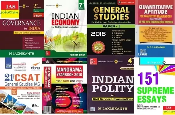 What are the best books for upsc civil services prelims quora ias books for civil services prelims and mains exam iassolution fandeluxe Images