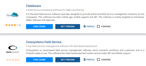Which are the best business management software available in