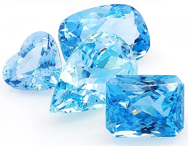 Multicolour Gems Where Does Aquamarine Stone Come From