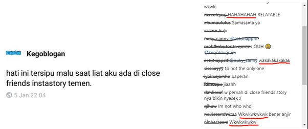 What is Indonesian's equivalent meaning of 'LMAO'? Is it