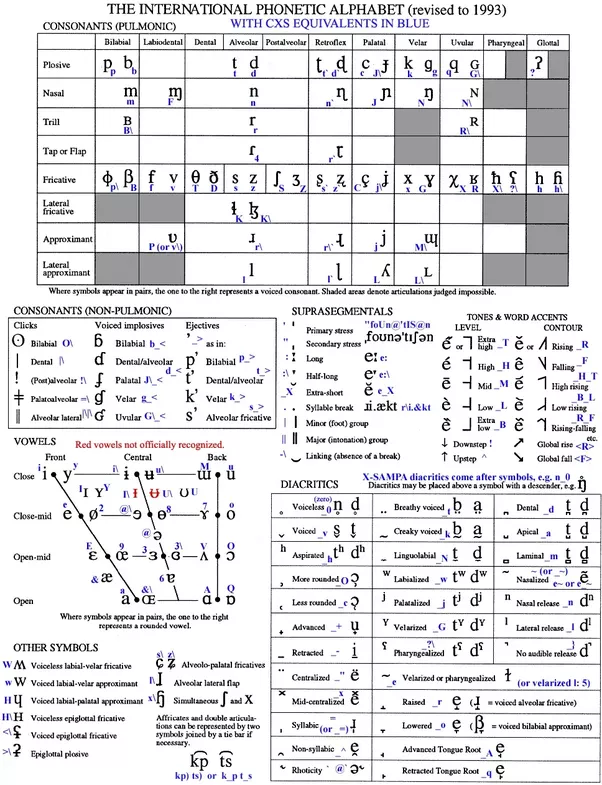 How Did You Learn The International Phonetic Alphabet And How Long