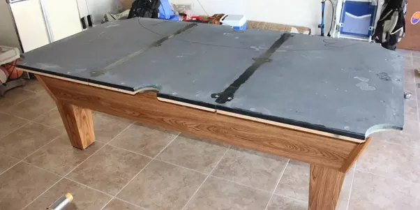 How Much Does It Cost To Move A Pool Table Quora - How to move a slate pool table