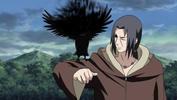 can naruto still use itachi s crow the one that has shisui s eye