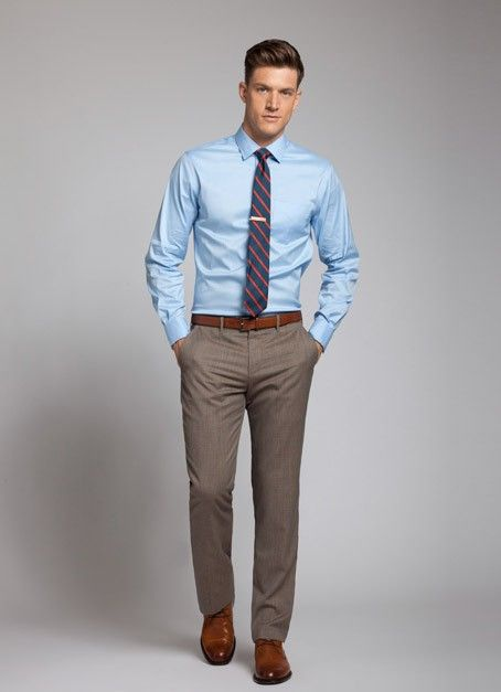 What color shirt should I wear with dark brown pants? - Quora