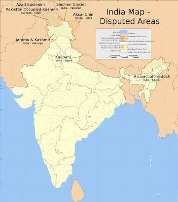 Do India shows wrong map of Kashmir in Indian map? - Quora on great indian map, search indian map, sketch indian map, open indian map, live indian map, good indian map, show indian flag,