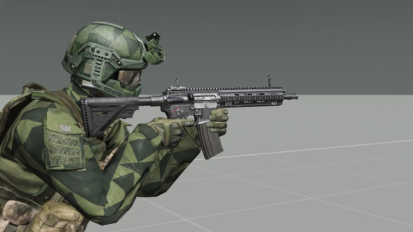 What do you think about the guns in ARMA 3, and what do you think