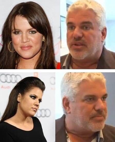 She Looks More Like Him Than Oj Plus Is Black And If Khloe Was His Daughter Would Most Likely Have Features A Darker Skin