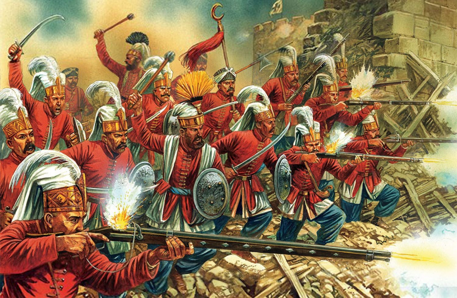 How to beat the Great Bombard in the Ottoman Civilization on