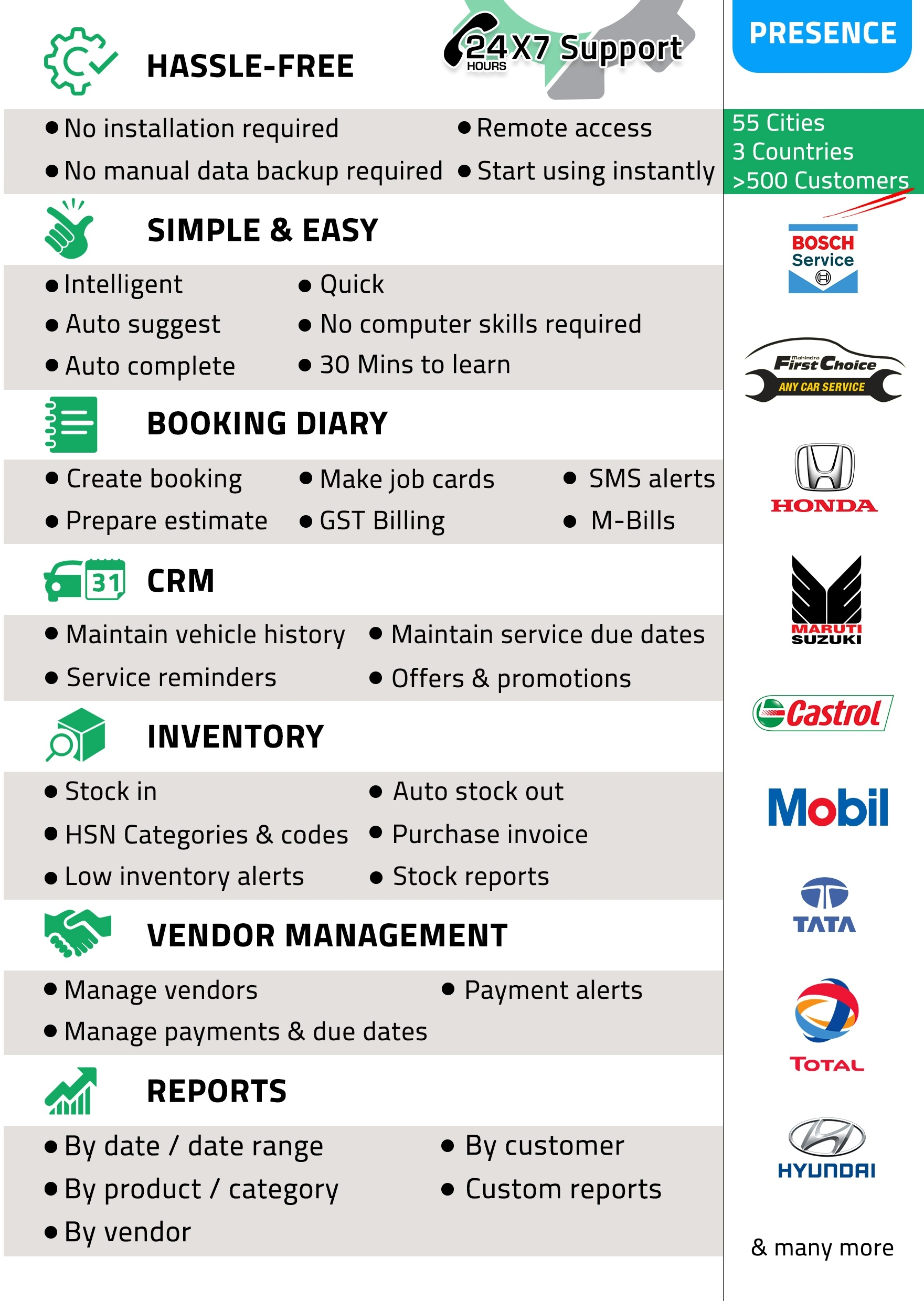 About 300 Workshops Who Used Various Other Solutions Have Now Switched To RAMP Auto Repair Software Garage Management Best Car