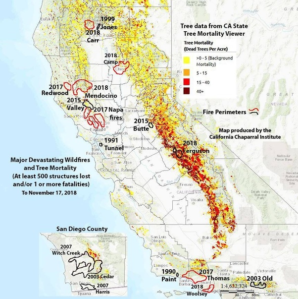 How Are The Southern California Wildfires Related To Climate Change