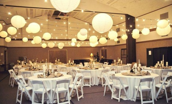 Banquet Decoration Ideas Gorgeous Wedding For Reception Decorating With Swim Centerpiece