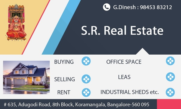 Which are the best real estate agencies in Bangalore? - Quora