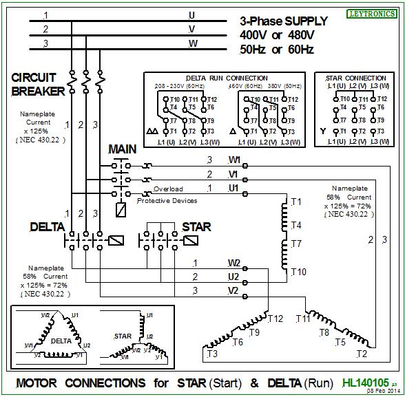How To Design A Star Delta Starter Quora