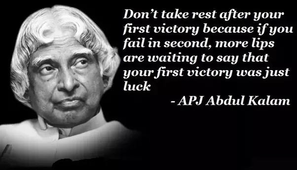 What Are The Best Inspirational Quotes Said By APJ ABDUL
