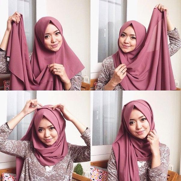 Bagaimana Cara Mudah Membedakan Hijaber Indonesia Dengan Malaysia Jenis Hijab Mode Pakaian Make Up Dll Quora