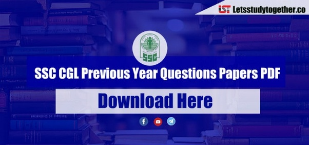 Where can i download ssc cgl old question papers quora here were providing ssc cgl previous year questions paper pdf with answer key in hindi english you can download the ssc cgl previous year questions fandeluxe Image collections
