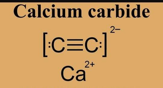 What Is The Chemical Formula Of Calcium Carbide Quora
