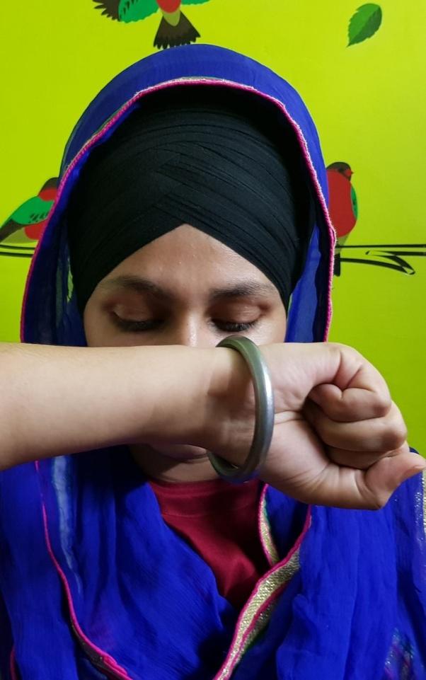 Why do Sikhs wear kada? What does it symbolise? - Quora