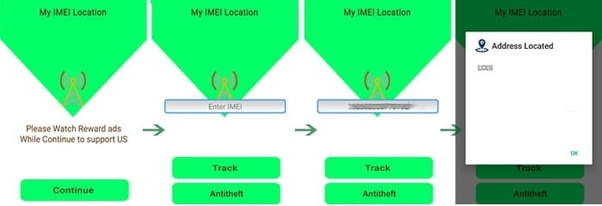 how to find my phone using imei number