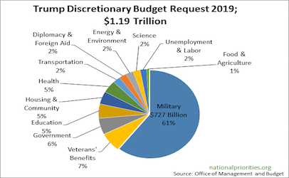 How does the government actually spend our taxes (a pie chart or