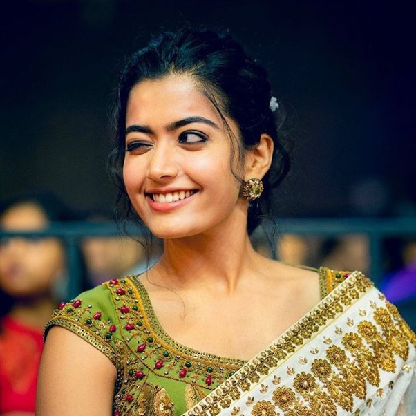 What are some of the cutest pictures of Rashmika Mandana? - Quora