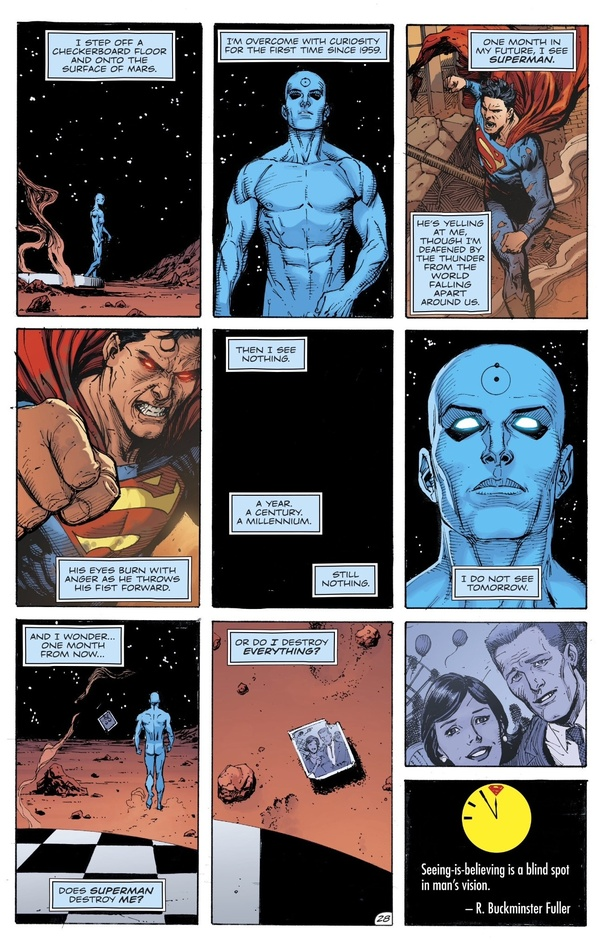 Can You Sum Up The Dc Storyline Doomsday Clock Up Until The