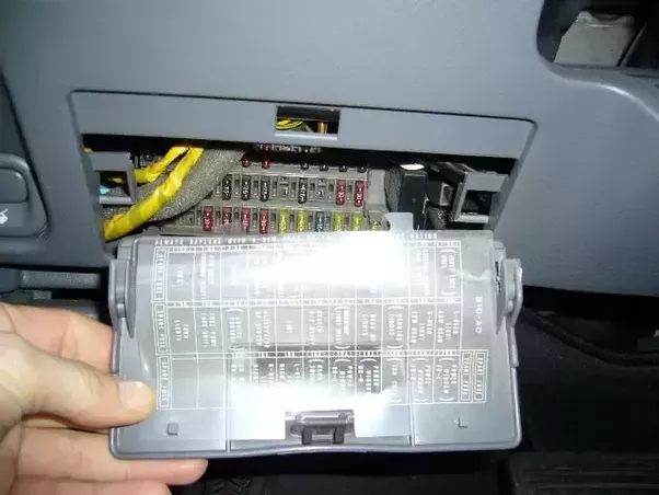 Where Is The Fuse Box On A 2003 Ford Taurus