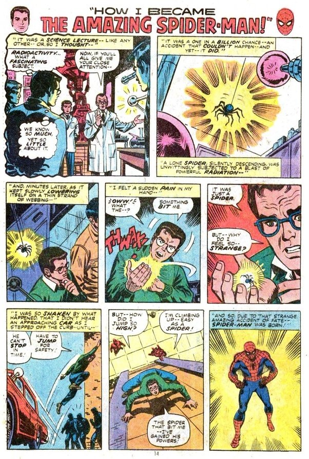 How did Spider-Man get his powers? - Quora