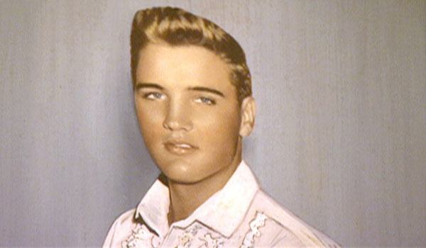 What Was Elvis Natural Hair Color